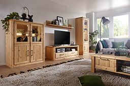 massivholz-moebel24.de | Wohnzimmer | Hochwertige ...