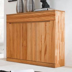 Highboard No.3 Amadeo Kernbuche massiv