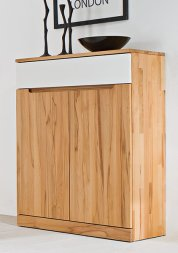 Highboard No.4 Amadeo Kernbuche massiv