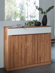 Highboard No.3 Amadeo Wildeiche massiv
