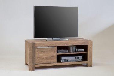 TV-Schrank No.2 Anni Eiche Sonoma Bianco massiv