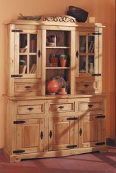Buffetschrank Romantico Kiefer massiv