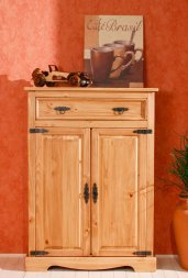 Highboard No.2 Romantico Kiefer massiv