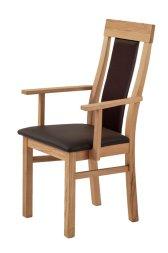 Armlehnstuhl No.9 Universal mit Sitz braun