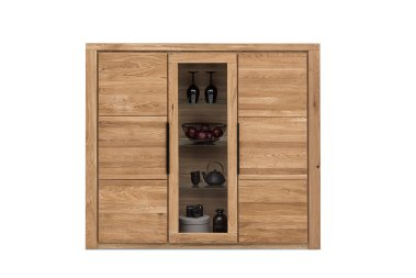 Highboard No.1 Amalie Wildeiche teilmassiv
