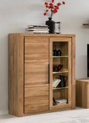 Highboard No.2 Amalie Wildeiche teilmassiv