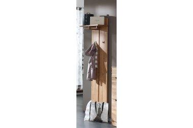 Garderobenpaneel No.1 Amadeo Kernbuche massiv
