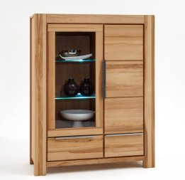 Highboard No.2 Allessandro Kernbuche massiv