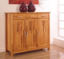 Highboard No.2 LeylaClassic Kernbuche massiv