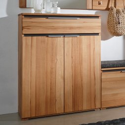 Highboard Vinzent Kernbuche massiv