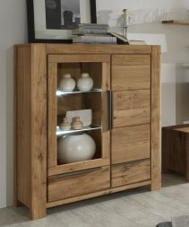Highboard No.2 Milo Wildeiche massiv