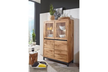 Highboard No.4 Eleny Wildeiche massiv