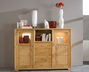Highboard No.1 Joris Kiefer massiv
