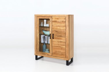 Highboard No.1 Dorsey Wildeiche teilmassiv