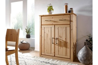 Highboard No.1 Laroux Kiefer massiv