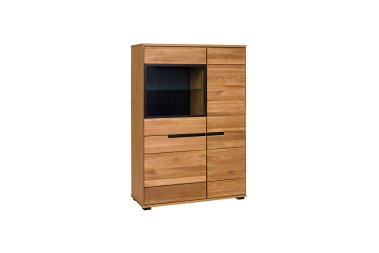Highboard No.1 Torvi Wildeiche teilmassiv