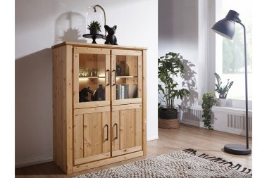 Highboard No.2 Laroux Kiefer massiv