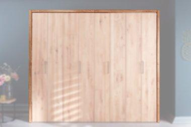 Passepartout-Rahmen passend für 1-Türer Kleiderschrank Aneca Wildeiche massiv