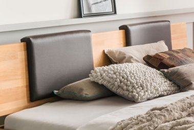 Polsterelement braun für Bett No.2 Sieni Imitationsleder