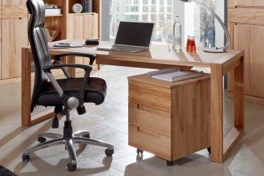Schreibtisch No.1 Amadeo Kernbuche massiv