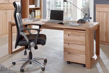 Schreibtisch konfigurierbar Amadeo Kernbuche massiv
