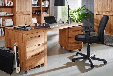 Schreibtisch No.1 Amadeo Wildeiche massiv