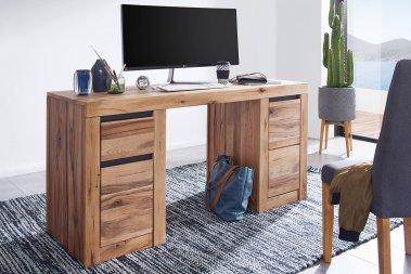 Schreibtisch Thoran Wildeiche massiv
