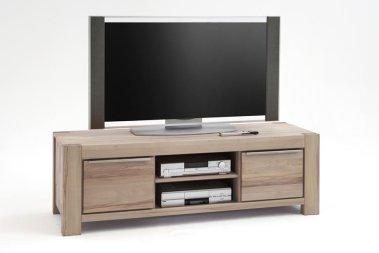 TV-Schrank No.1 Anni Eiche Sonoma Bianco massiv