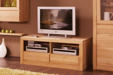 TV-Schrank No.1 Santero Kernbuche massiv