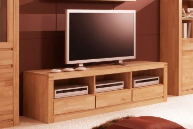 TV-Schrank No.2 Santero Kernbuche massiv