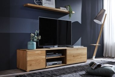 TV-Schrank No.1 Marthaler Wildeiche massiv