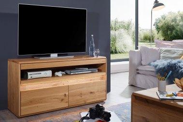 TV-Schrank No.1 Pearson Wildeiche massiv