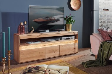 TV-Schrank No.2 Pearson Wildeiche massiv