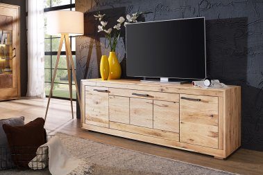 TV-Schrank No.3 Sandora Wildeiche massiv