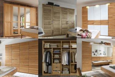 Kleiderschrank No.6 Universal, 6-türig, konfigurierbar