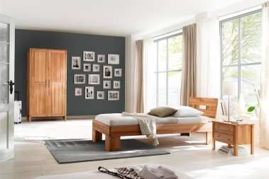 Komplettschlafzimmer No.2 Homestyle Kernbuche massiv