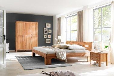 Komplettschlafzimmer No.3 Homestyle Kernbuche massiv