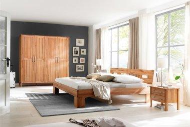 Komplettschlafzimmer No.4 Homestyle Kernbuche massiv