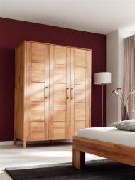 Kleiderschrank No.3 YoungStyle Kernbuche massiv