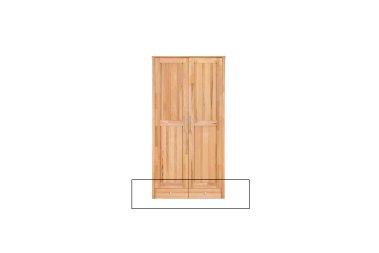 Schubladenunterbau 2-türer YoungStyle/HomeStyle Kernbuche massiv