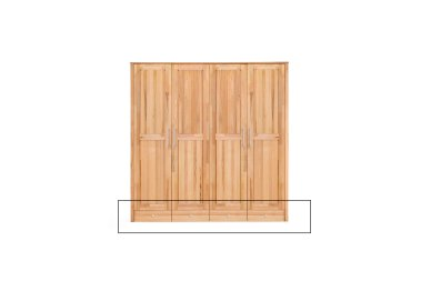 Schubladenunterbau 4-türer YoungStyle/HomeStyle Kernbuche massiv